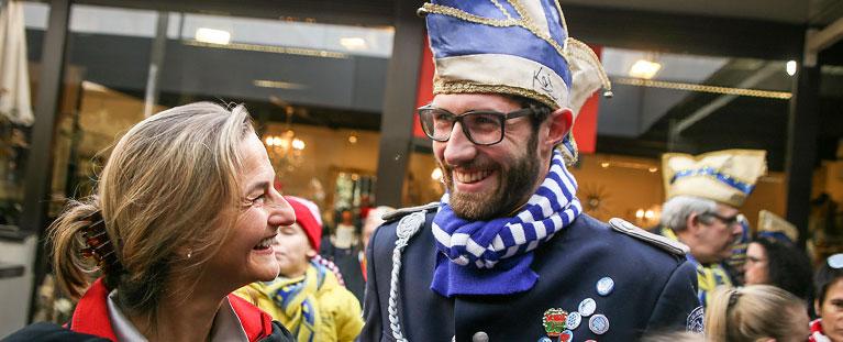 Patricia Peill mit René Graffi