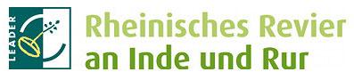 Logo der Leader Region Rheinisches Revier an Inde und Rur