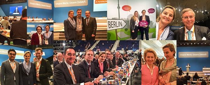 Kreis Düren beim Bundesparteitag der CDU