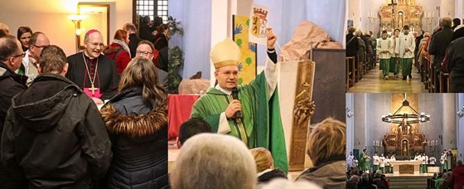 Bischof von Aachen Helmut Dieser in Jülich