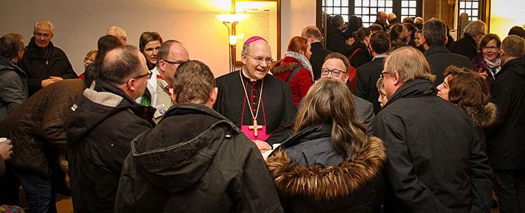 Bischof Helmut Dieser in Jülich