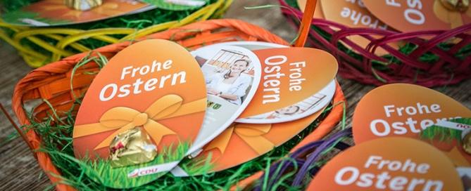 Ostergrüße von Landtagskandidatin Patricia Peill