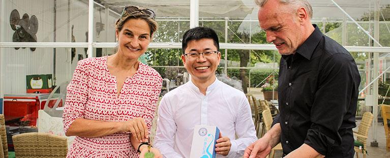 Besuch der chinesischen Delegation in Jülich