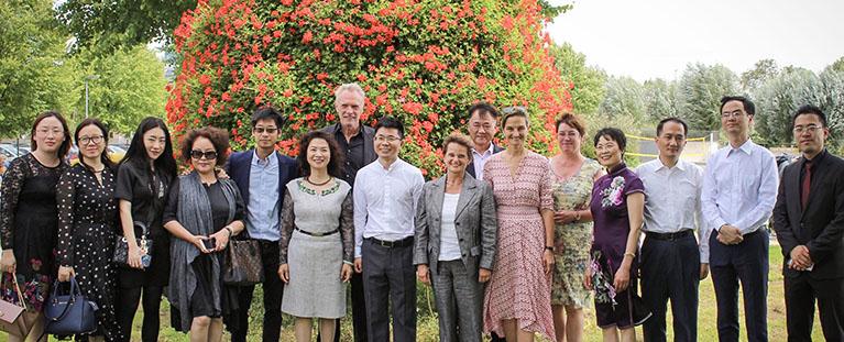 Besuch der chinesischen Delegation in Jülich Patricia Peill