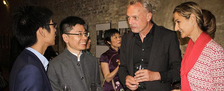 Besuch der chinesischen Delegation in Jülich mit Peill MdL