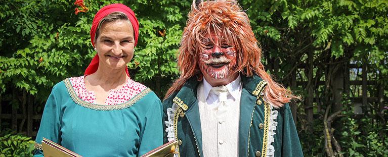 Märchenträume im Brückenkopf-Park Jülich mit Patricia Peill MdL