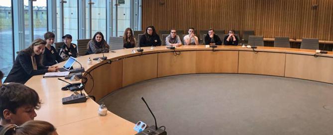 Jugendrat Aldenhoven im NRW Landtag