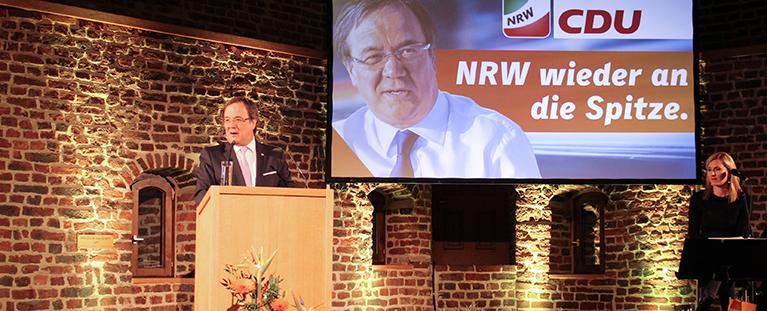 Armin Laschet beim Neujahrsempfang der CDU Düren Jülich