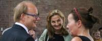 André Kuper, Patricia Peill und Edith Korber im Gymnasium Zitadelle Jülich