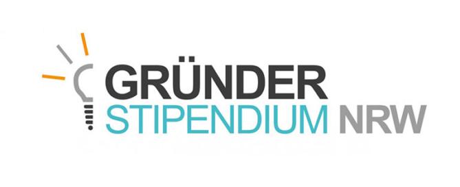 Logo Gründerstipendium NRW
