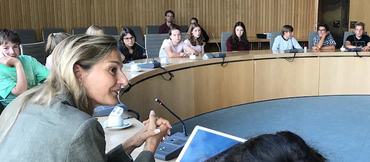 Wichtig ist es, mit der Jugend im Gespräch zu bleiben. Foto: PPP