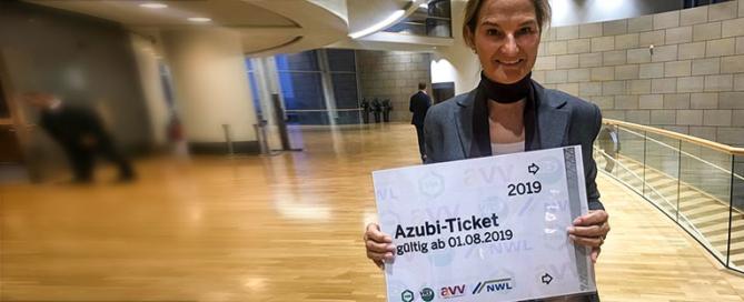Das NRW Azubi-Ticket mitPeill für Auszubildende