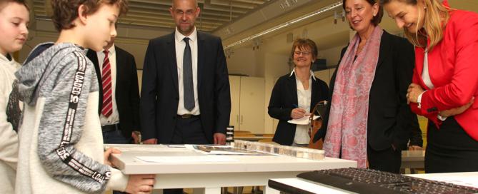 Präsentation des Beitrags Jugend forscht. Foto: PPP