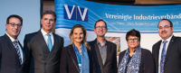 Schulterschluss für die Region bei den Vereinigten Industrie Verbänden (VIV). Foto: VIV