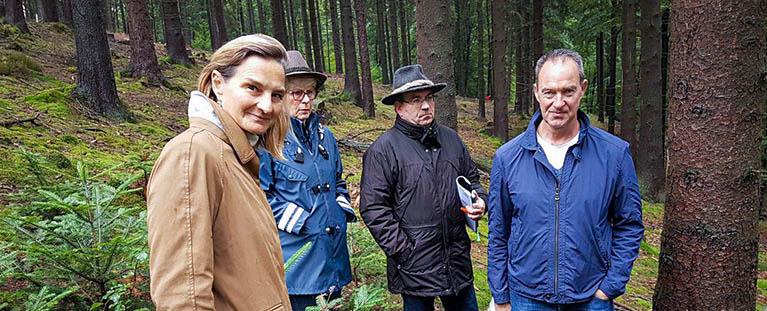 Wald-Klima-Gipfel mit Peill
