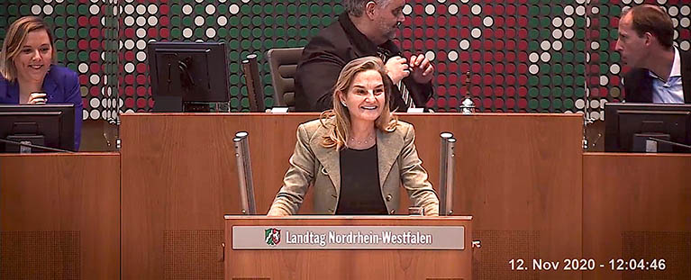 MdL Patricia Peill zum Thema Genschere Crispr