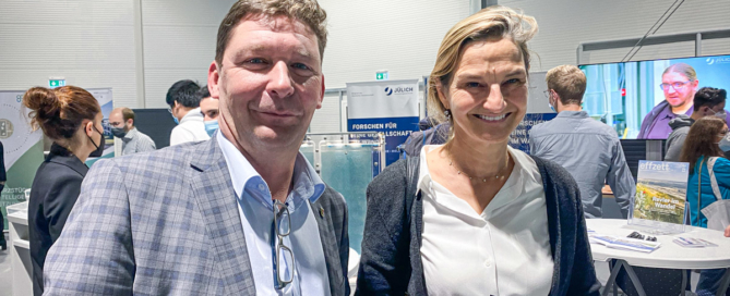 Wasserstoff-Messe Jülich, Axel Fuchs, Patricia Peill