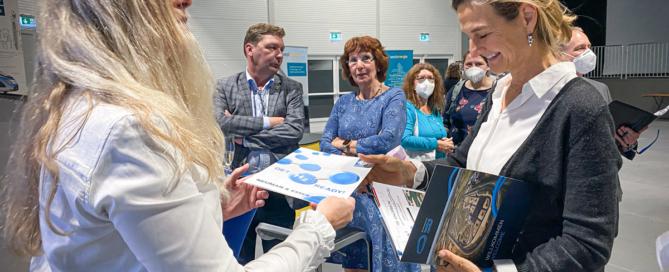 Wasserstoff-Messe Jülich, Axel Fuchs, Doris Vogel, Patricia Peill